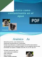 Arsenico en agua