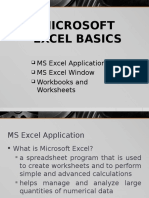 Introduction to MS Excel Basic