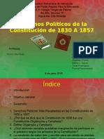 Derechos Políticos de la Constitución de 1830 A 1857