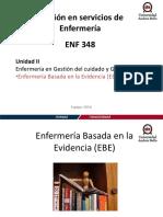 Clase Enfermería Basada en La Evidencia (EBE)