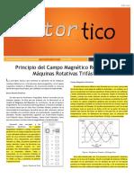 2015 JUL - Principio Del Campo Magnetico Rotatorio en Maquinas Trifasicas