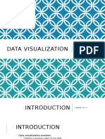 Overview of Data Visualization