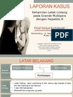 Lapsus Letli + Grande Multipara Hep B