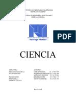 Metodologia Mapa Conceptual. Ciencia