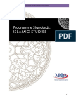 Program Standards_Islamic Studies