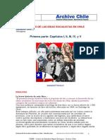 El desarrollo de las ideas socialistas en Chile