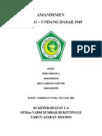 MAKALAH AMANDEMEN UUD.docx