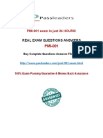 Passleader PMI-001 Study Guide