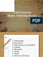 9 Important Tools for SEO