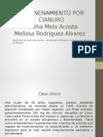 Caso Clinico Envenenamiento Por Cianuro