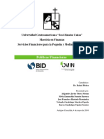 Trabajo de Investigación BID FOMIN - Trabajo Final
