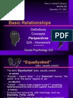 Basic Relationships - Love - Soulmate - Slide Show