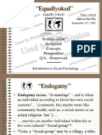 Equallyoked - Pronunciation - Definition - Social History - Concepts - Perspectives - Show Show