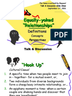Introduction to the Concept of Relationships - Love - Marriage - Sex - Slide Show