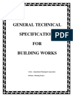 Gen Tech Specipication