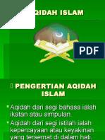 Akidah, Akhlak, Ibadah, Muamalah.ppt