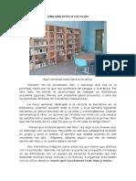Una Biblioteca Escolar