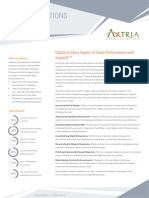 Axtria SalesIQTM – Sales Planning and Operations