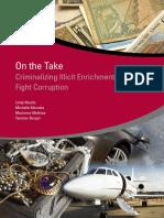 Criminalizing Illicit Enrichment to Fight Corruption