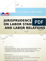 Labor Standards and Labor Relations