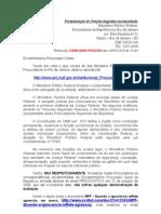 Formalizações MPF- RJ Petições Pendentes