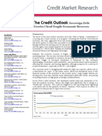 The Credit Outlook Sovereign Debt Worries Cloud Fragile Economic Recovery