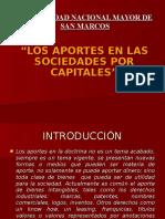 Aportes en Las Sociedades de Capitales.unmsm.2011