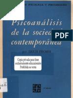 Fromm, Erich (1964) - Psicoanálisis de la sociedad contemporánea