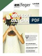 Was Soll Das Ganze - Ausgabe 10-2016 des strassenfeger