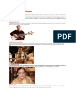 Indian Classical Singers with photos