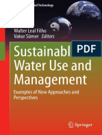 (Green Energy and Technology) Walter Leal Filho, Vakur Sümer (Eds.)-Sustainable Water Use and Management_ Examples of New Approaches and Perspectives-Springer International Publishing (2015)