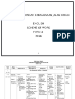 2016 Form 4 Scheme of Work