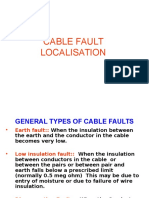 Cable Fault Localisation