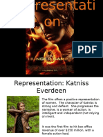 representation in the hunger games