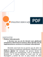 ppt politici educationale