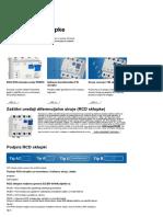 RCD (FID) Sklopke - Schrack Technik