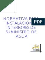 Normativa Fontaneria