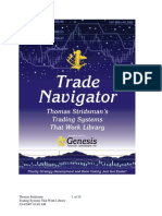 Trade Navigator - Thomas Stridsman's Trading Systems That Work Library