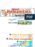 Overview of Humanities & Scope