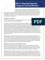APA DSM 5 Integrated Approach