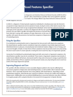APA DSM 5 Mixed Features Specifier