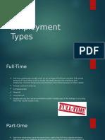 employment types