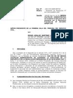 Recurso de Medida Cautelar en Proceso Administrativo