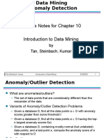 Chap10 Anomaly Detection