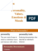 Chapter 5 (OB)_Personality%2cValues%2c Emotions & Moods