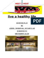 business plan on meat shop.