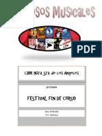 FOLLETO FIESTA FIN DE CURSO 2016