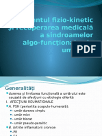 Tratamentul Fizio Kinetic Şi Recuperarea Medicală a Umărului