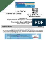 E-ticket Missio Qq3r7a