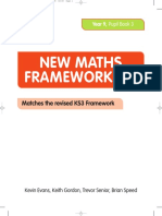COLLINS NEW MATHS FRAMEWORKING YEAR 9